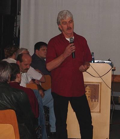 Denzweiten Votrag hielt Rolf Wilsch vom Sea Life Center Dresden ...