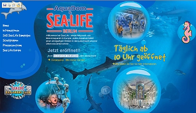 Sea Life Centre Dresden : Aquadom aus der Gruppe Sea life in BERLIN