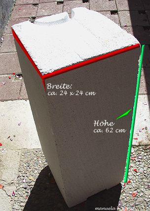 Meeresaquaristik der passende selbstgebaute unterschrank for Schrank ytong